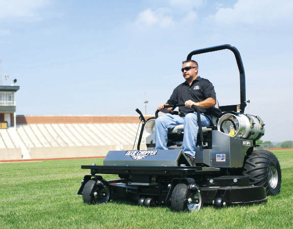 Power Up Mower Sales with Propane
